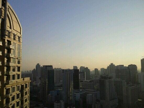 Conrad Bangkok Hotel: View from executive lounge. Wonderful!