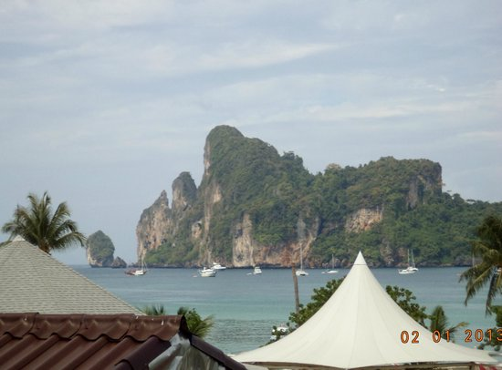 Phi Phi Hotel: View from the room