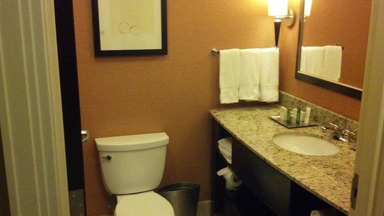 Hilton Columbus/Polaris: Bathroom
