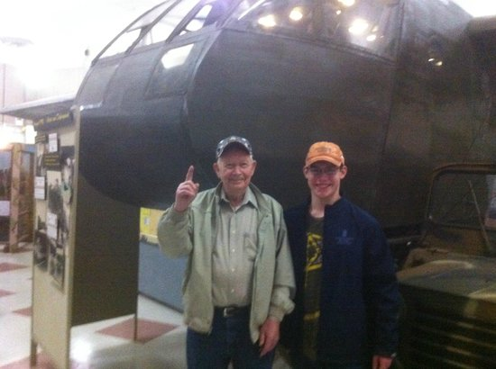 Fort Campbell, KY: Standing in front of a U.S. Army WW II Glider