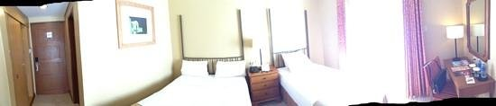 Crown Regency Prince Resort Boracay: panorama of room
