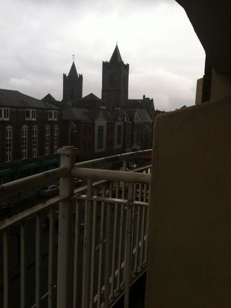 Staycity Serviced Apartments Christchurch: room with another view
