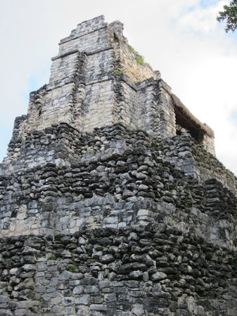 Quintana Roo, Mexique : The temple at muyil 