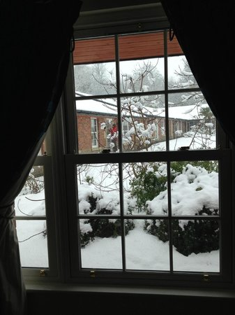Dorrington, UK: view from front room window