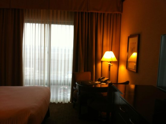 Ameristar Casino Hotel Kansas City: Big windows