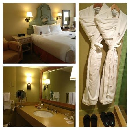 Fairmont Sonoma Mission Inn & Spa: Great bed!