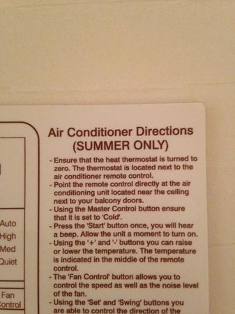 International Hotel Suites Calgary: only AC in summer.