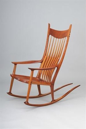 Alta Loma, CA: Sam Maloof Rocking Chair