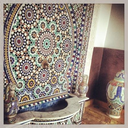 Riad Charme d'Orient: plunge pool