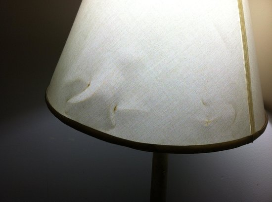 Eden Roc Inn & Suites: lampshade