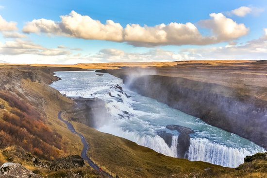 Beautiful photos/Nature - Page 3 Golden-falls-gullfoss
