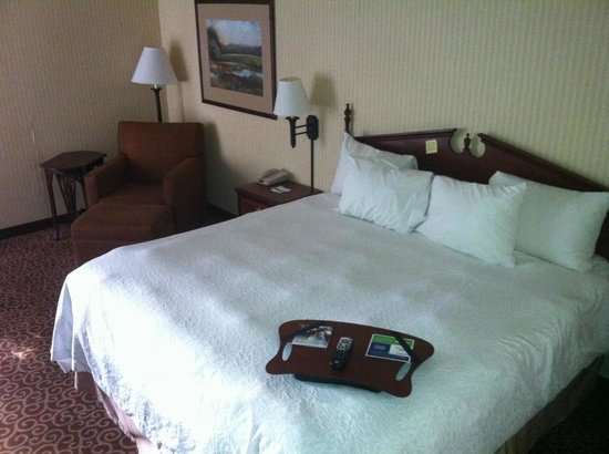 Hampton Inn Quincy: King room
