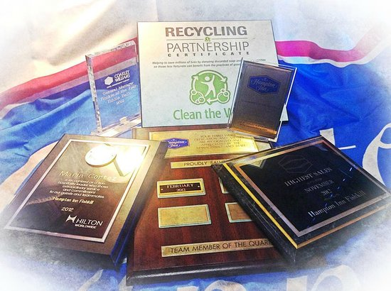 Recent Awards won by the Hampton Inn Fishkill team!