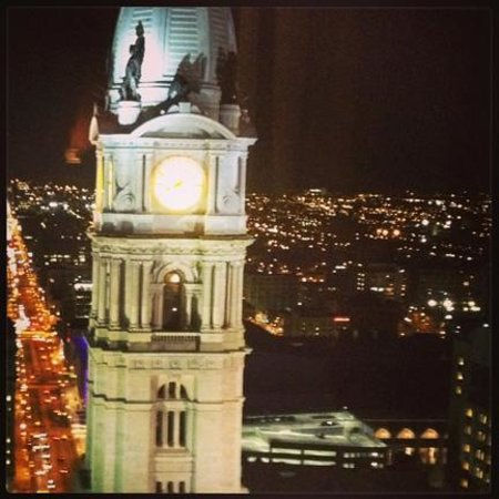 Ritz-Carlton Philadelphia: VIew from the Club level lounge
