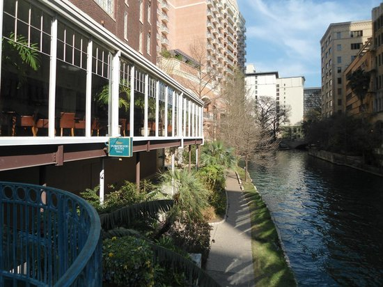 Homewood Suites by Hilton San Antonio - Riverwalk / Downtown: View from the river side