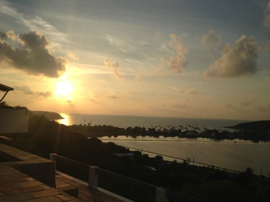 Ambia Boutique Hotel: Sunset from our balcony