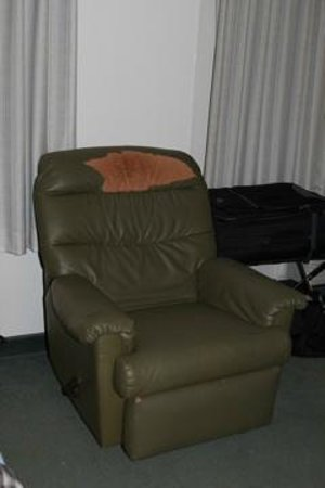 Extended Stay Deluxe - Dallas - Plano: Chair in our room.