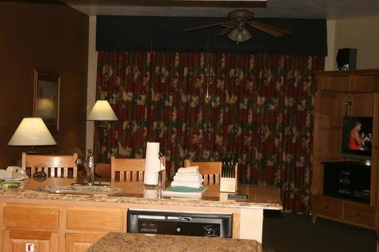 Wyndham Sedona: Roomy living room