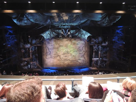 View From The Second Balcony Before Wicked Begins
