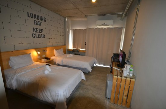 The Warehouse Bangkok: vue chambre