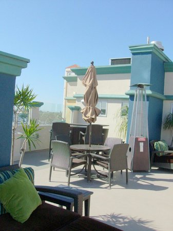 Peacock Suites: Rooftop