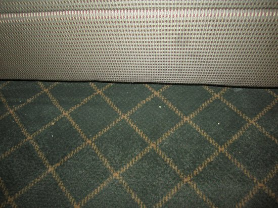 Holiday Inn Buffalo Amherst: Some crumbs under the table