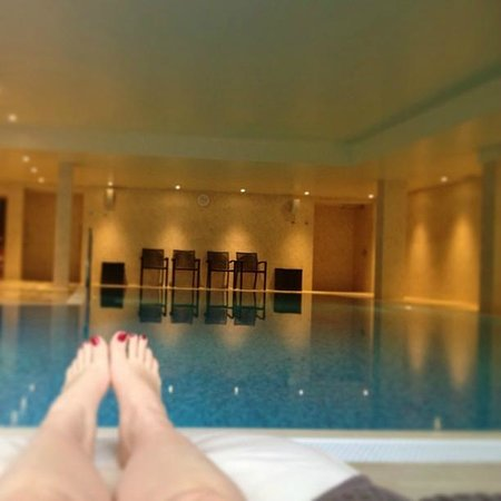 Raithwaite Hall: Very relaxing pool