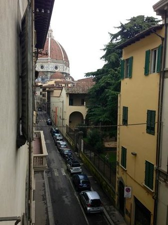 Hotel Dali: the Duomo from my room