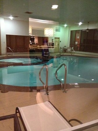 Hampton Inn Charleston - Southridge: pool, sorry about the reflection, it was taken through a window