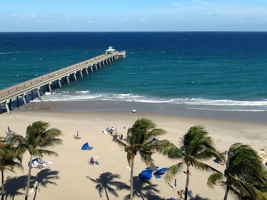 Wyndham Deerfield Beach Resort: Oceanfront room view