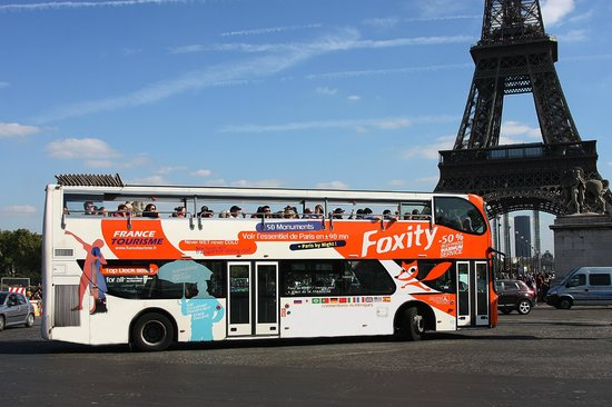 foxity tour eiffel picture of foxity bus tours paris tripadvisor. Black Bedroom Furniture Sets. Home Design Ideas