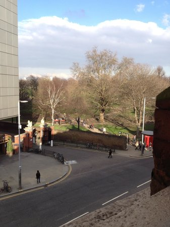Seraphine Hotel - Kensington Olympia: View from room of Kensington Gardens
