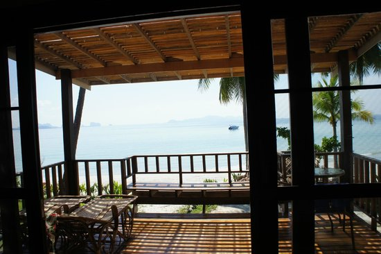 Pawapi Resort: Blick aus der HoneyMoonSuite