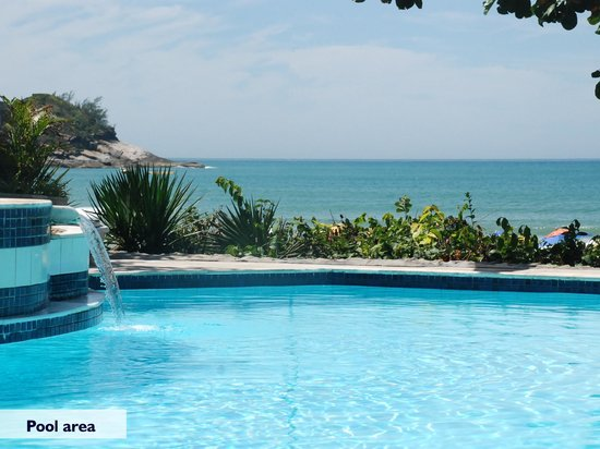 Hotel Le Relais La Borie: Exclusive front beach pool