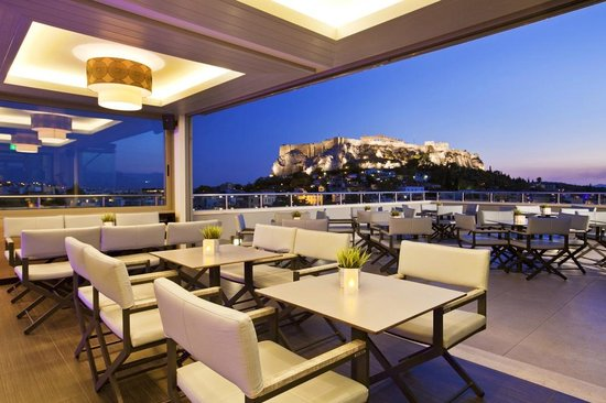 Thea terrace bar athens restaurant reviews phone for Hotel the terrace