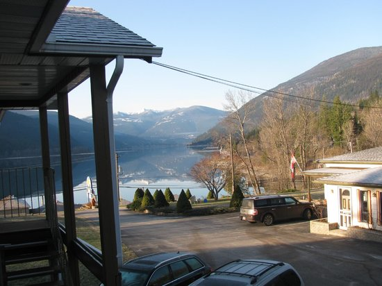 Kokanee Glacier Resort: View from outside our room.
