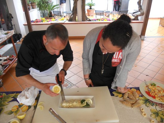 Hotel Ristorante Garden: cooking classes with chef Marco