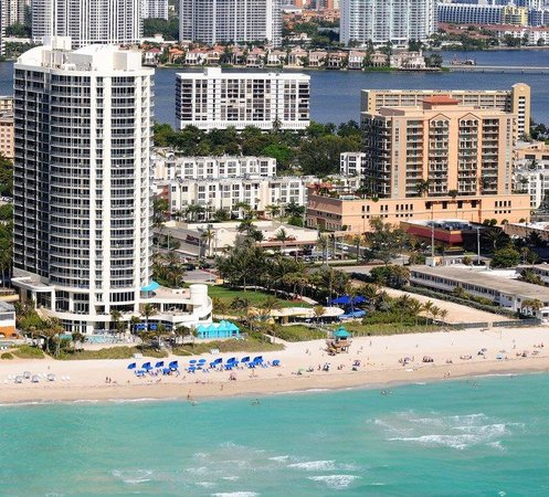 Doubletree by Hilton Ocean Point Resort & Spa - North Miami Beach : Ariel