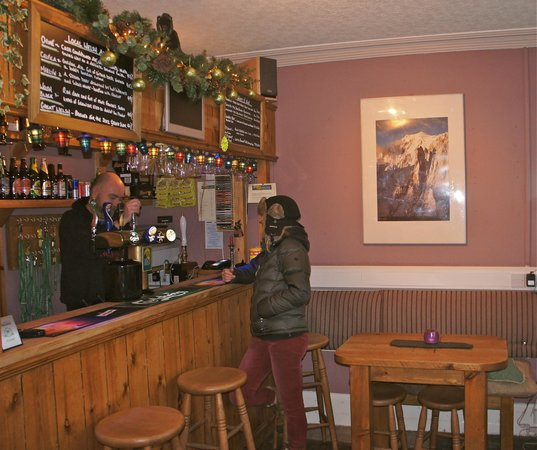 The Vagabond Bar - Great local Ales.