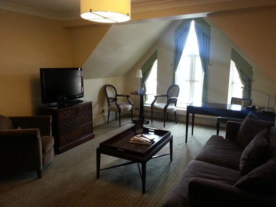 Rookery Hall Hotel & Spa: Living room