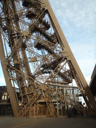 Stairs Up Picture Of Eiffel Tower Paris Tripadvisor