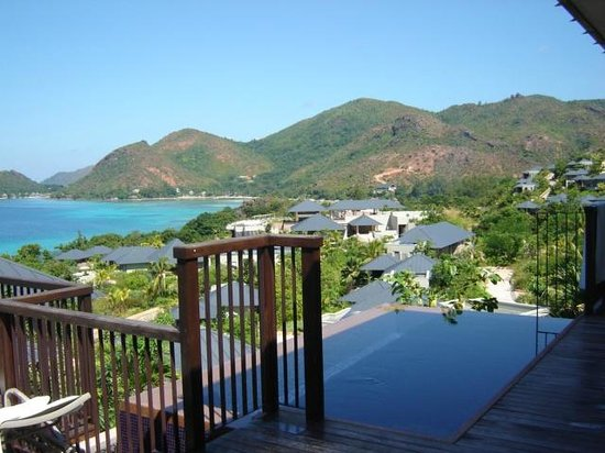 Anse Takamaka, Seszele: View from our Villa deck