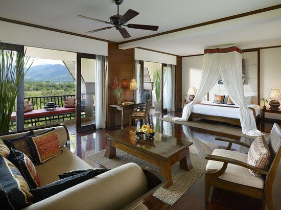Anantara Golden Triangle Elephant Camp & Resort: Anantara Three Country View Suite