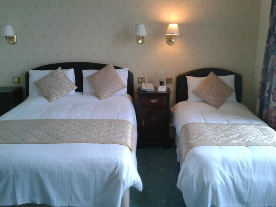 Hotel Victoria - Newquay: bed room