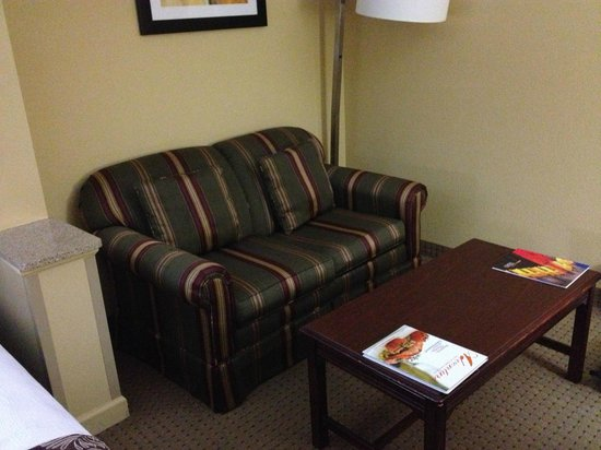 BEST WESTERN PLUS Windsor Suites: apartment sofa