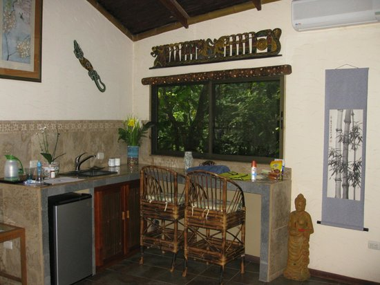 Cascadas Farallas Waterfall Villas: Kitchenette