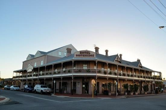 Hotel Northbridge at dawn