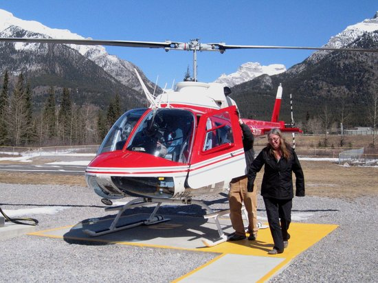 Happy Rider  Picture Of Alpine Helicopters Inc Canmore  TripAdvisor
