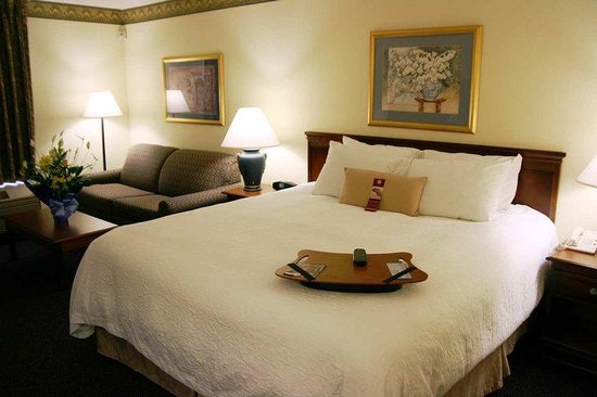 Hampton Inn Williamston: King Suite Whirlpool