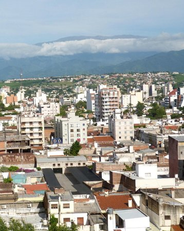 Alejandro I Hotel International Salta: The view from our room on 8th floor